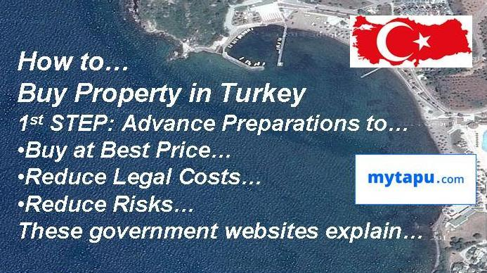 How to Buy Property in Istanbul & Turkey: these links to official government websites explain...