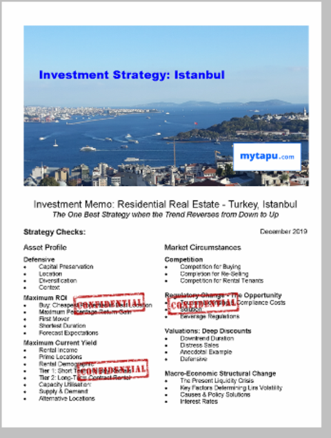 Investment Strategy Istanbul Turkey Real Estate Buy Property