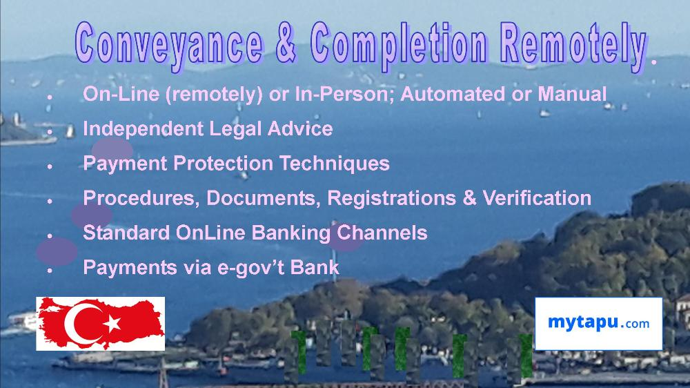 Buy Property and Complete Conveyancing On-Line with Secure payment of E-Gov Bank